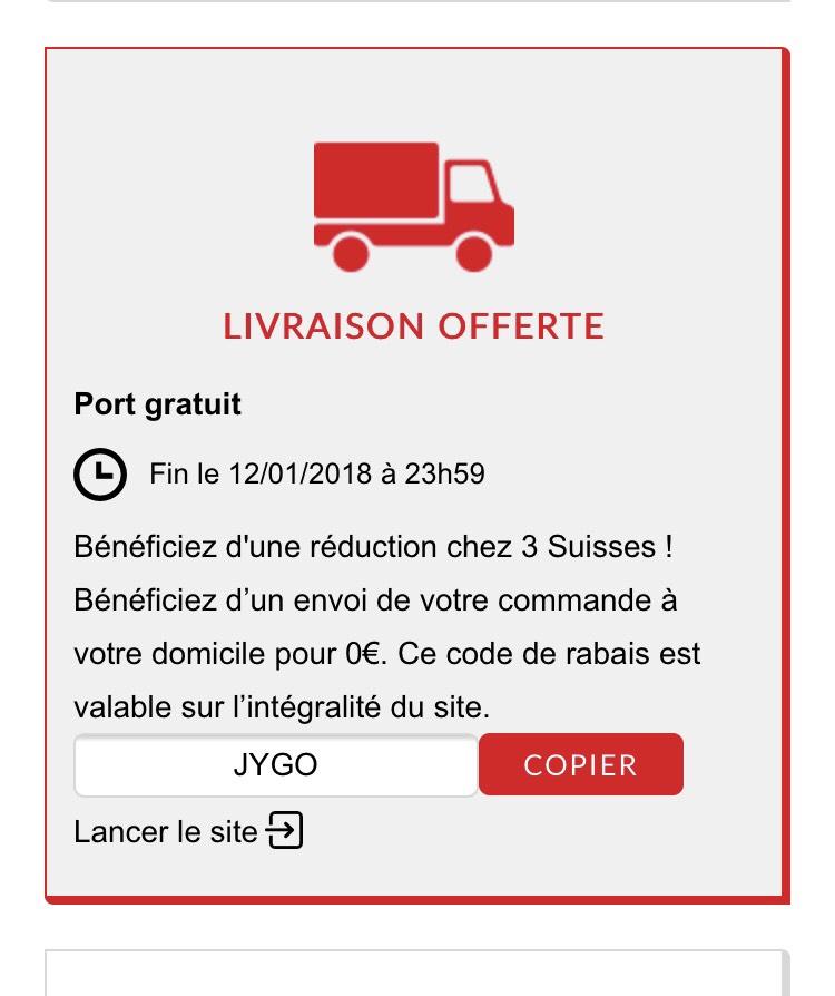 Frais de port gratuit sans minimum d 39 achat - Code promo son video frais de port gratuit ...