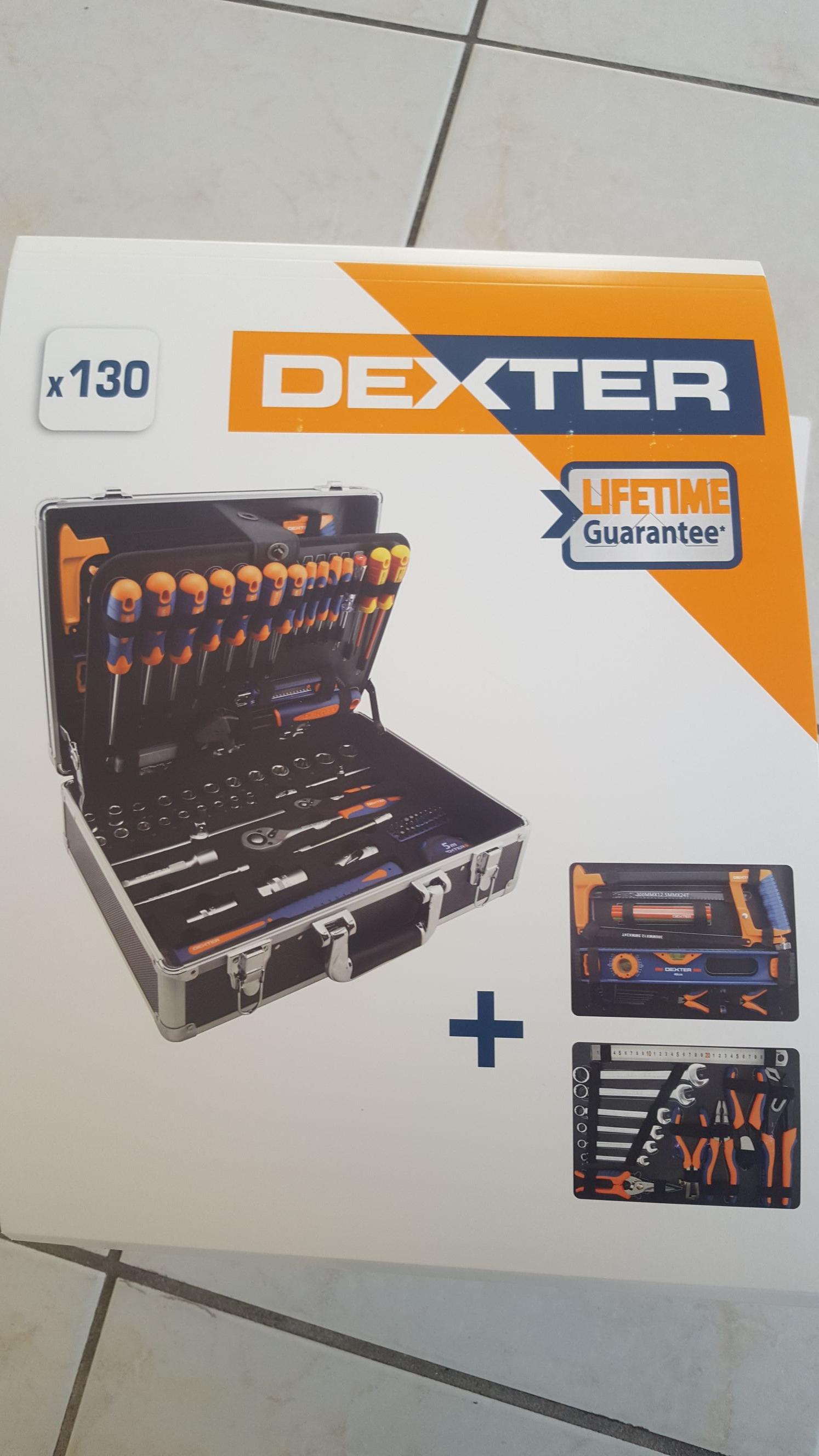 Mallette à Outils De Mécanicien Dexter 130 Pièces