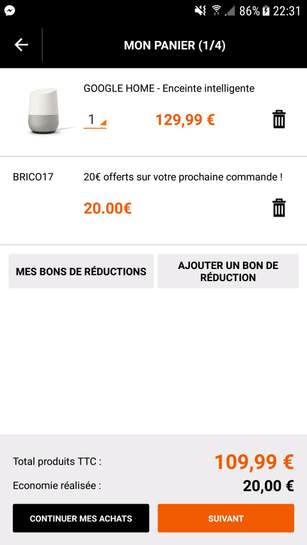 code promo brico priv 50 de r duction en f vrier 2018. Black Bedroom Furniture Sets. Home Design Ideas