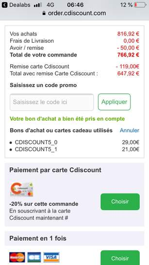 Carte Cdiscount Remise.Cdiscount A Volonte Smartphone 5 8 Apple Iphone X Full Hd A11