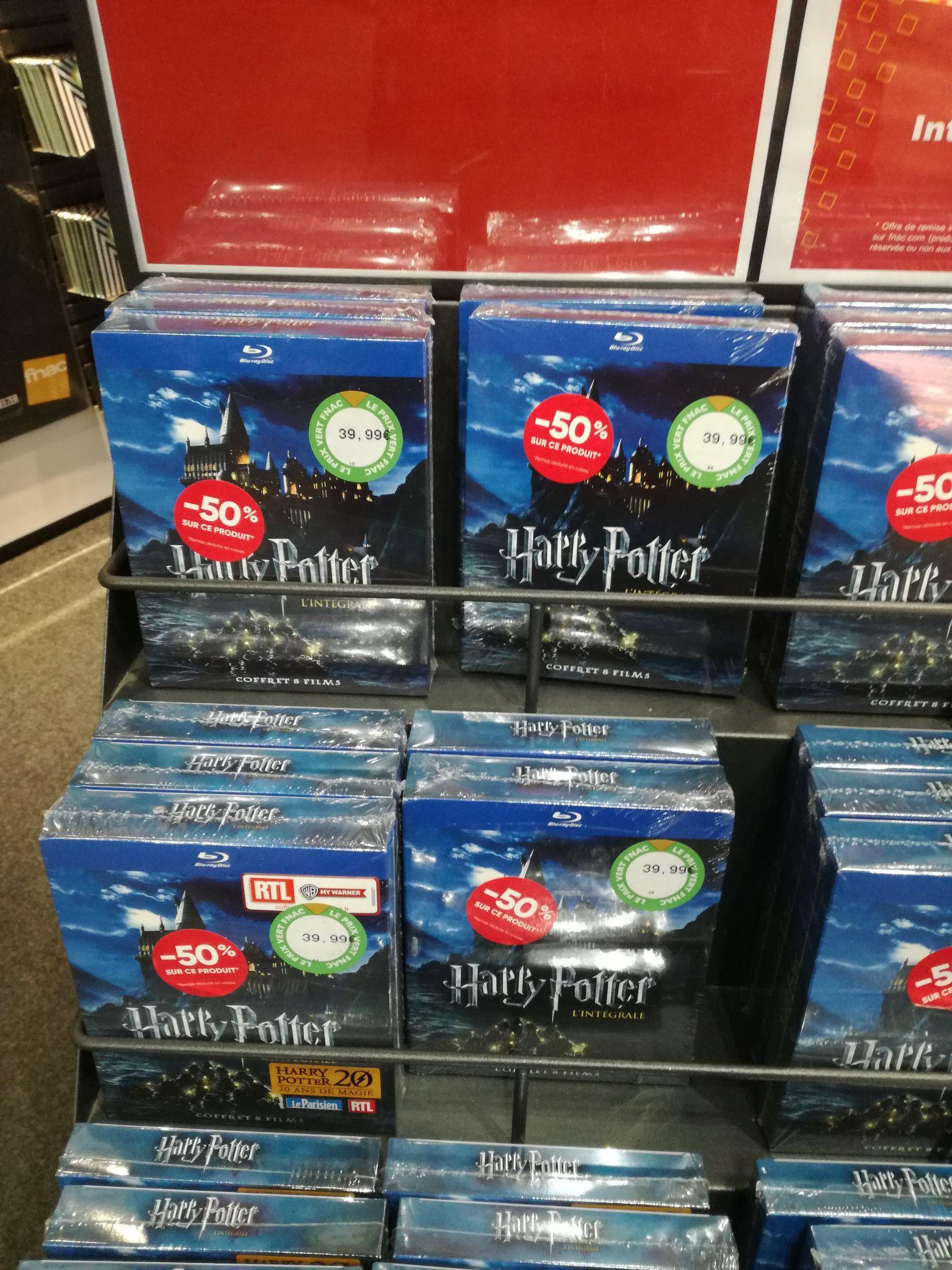 Coffret Harry Potter Lintégrale Des Films En Blu Ray à 20 Ou En