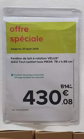 20 De Réduction Sur Les Stores Occultants Velux Dealabscom