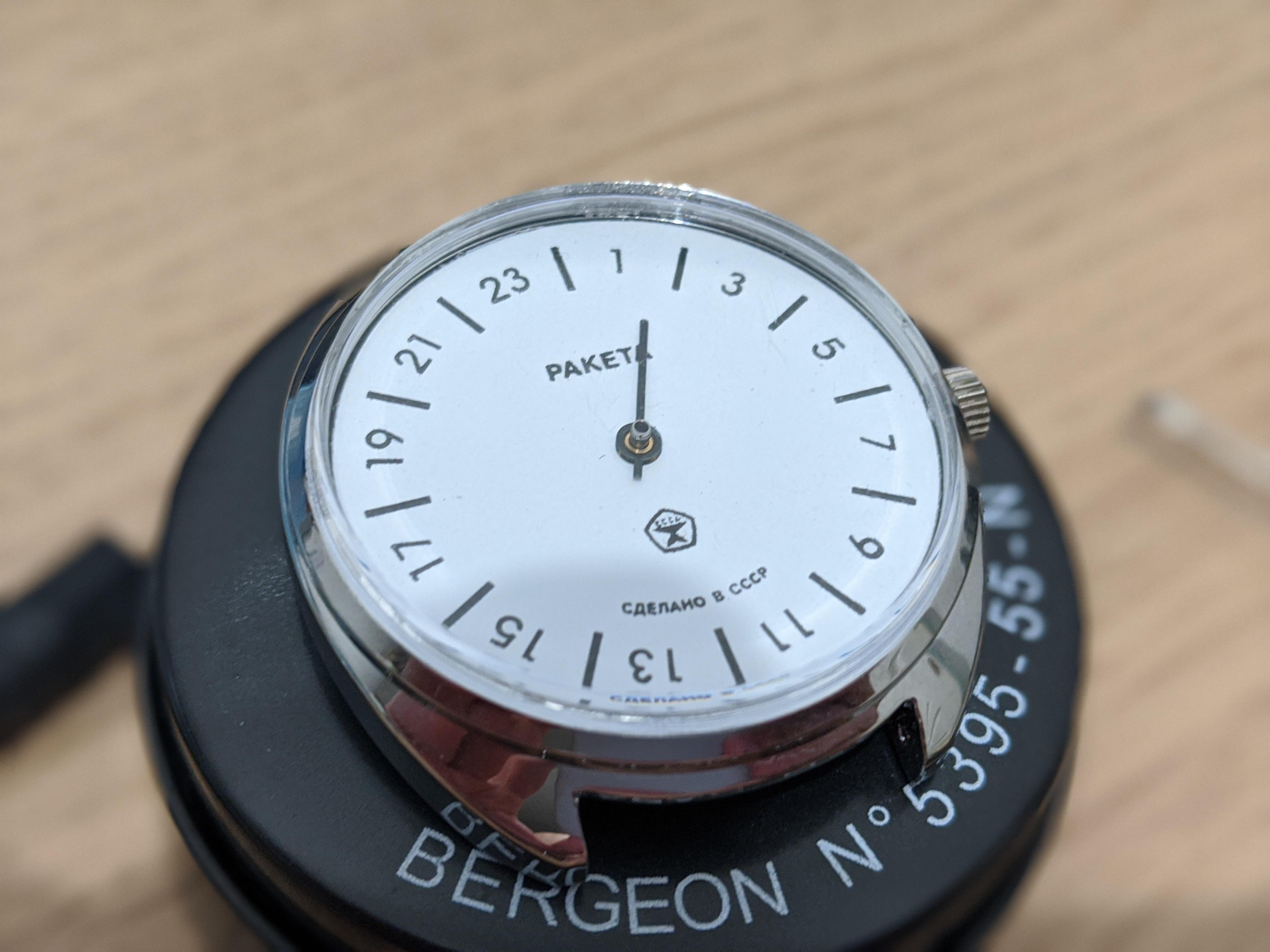 Ma montre parfaite n'existe pas ? Bon ben je la fais alors ! 30119389
