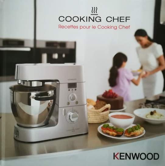 carte printemps robot kenwood cooking chef km099 premium. Black Bedroom Furniture Sets. Home Design Ideas