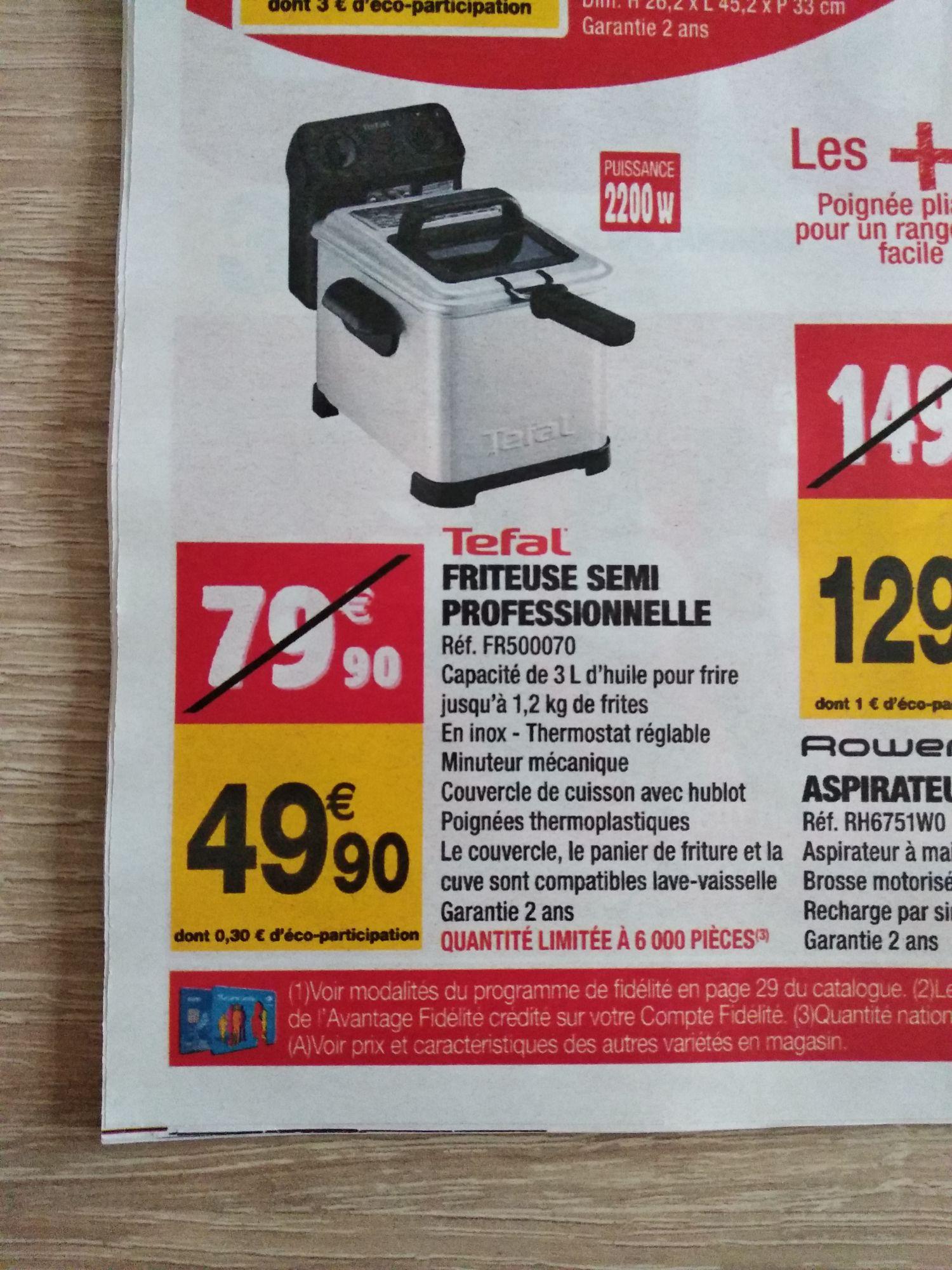 friteuse moulinex am333070 easy pro 3l 1 2 kg 2200w. Black Bedroom Furniture Sets. Home Design Ideas