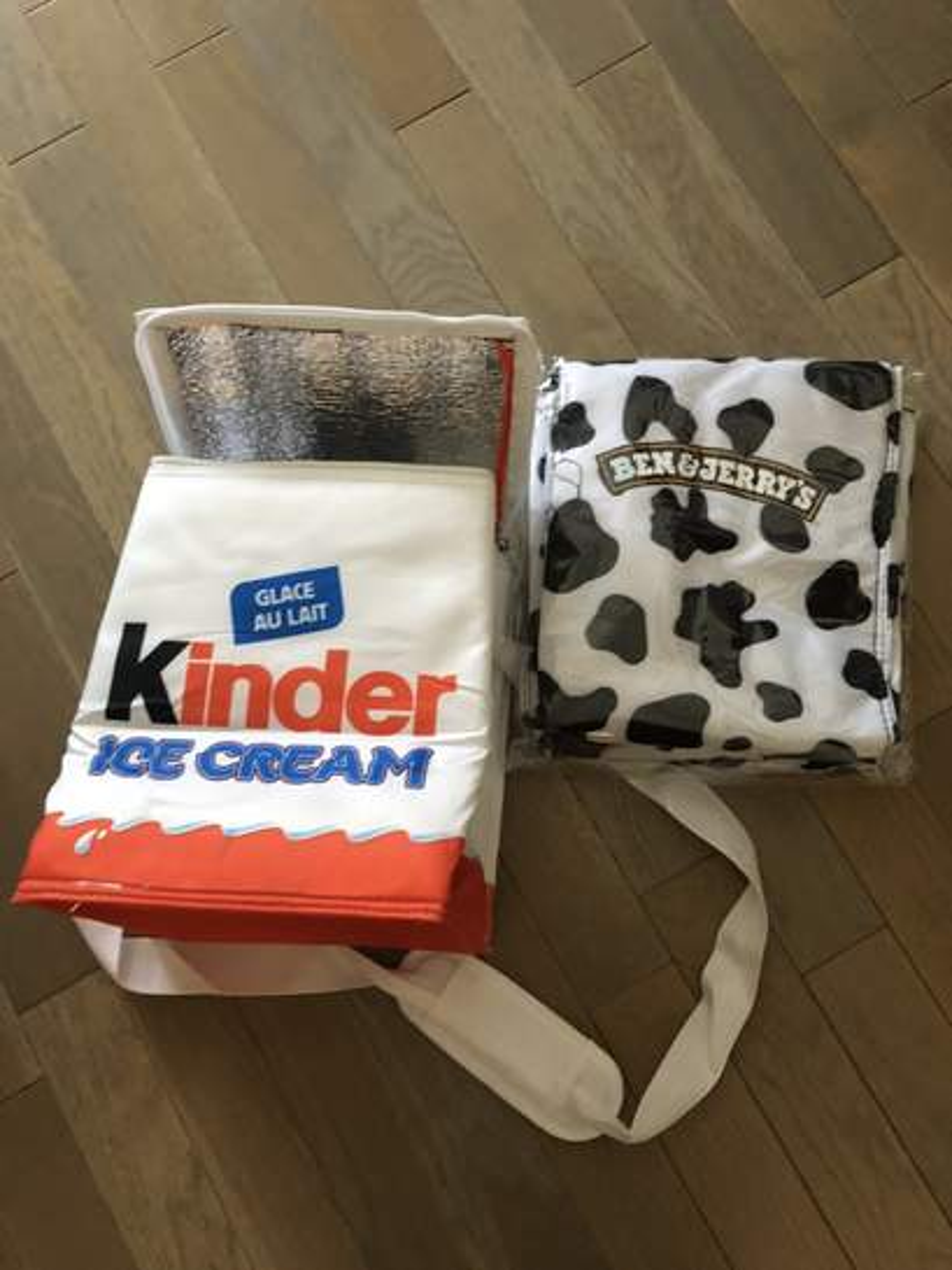 sac cong lation kinder bueno ice cream gratuit pour l 39 achat de glaces kinder bueno val d. Black Bedroom Furniture Sets. Home Design Ideas