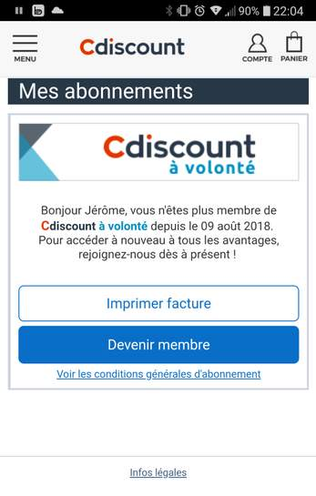 Carte Cdiscount Forum 2018.Comment Resilier Cdiscount A Volonte Version Juin 2018 Dealabs Com