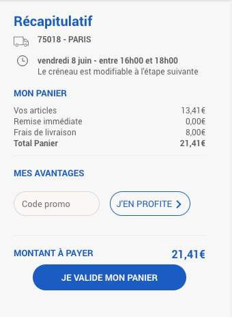 Booking ou mettre code promo
