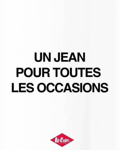 Lee Cooper slogan