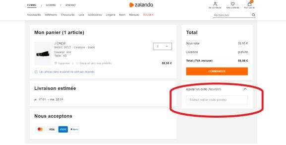 Code promo Zalando ⇒ 15% de réduction en avril 2020 ...
