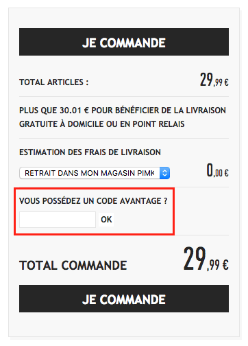 pimkie – utiliser votre code promo – Dealabs