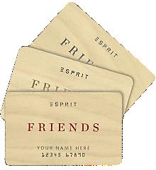 esprit – Esprit friends, la carte de fidélité – Dealabs