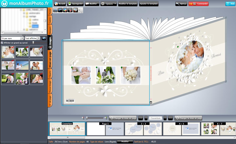 monalbumphoto – logiciel de création de livre photo – Dealabs