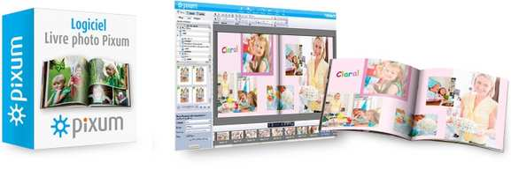 pixum – logiciel de création livre photo – Dealabs
