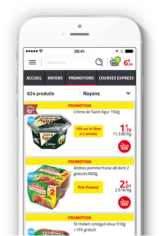 auchan-drive – une app pour faire ses courses en ligne – Dealabs