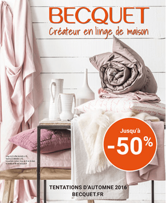 becquet – catalogue pour la maison – Dealabs