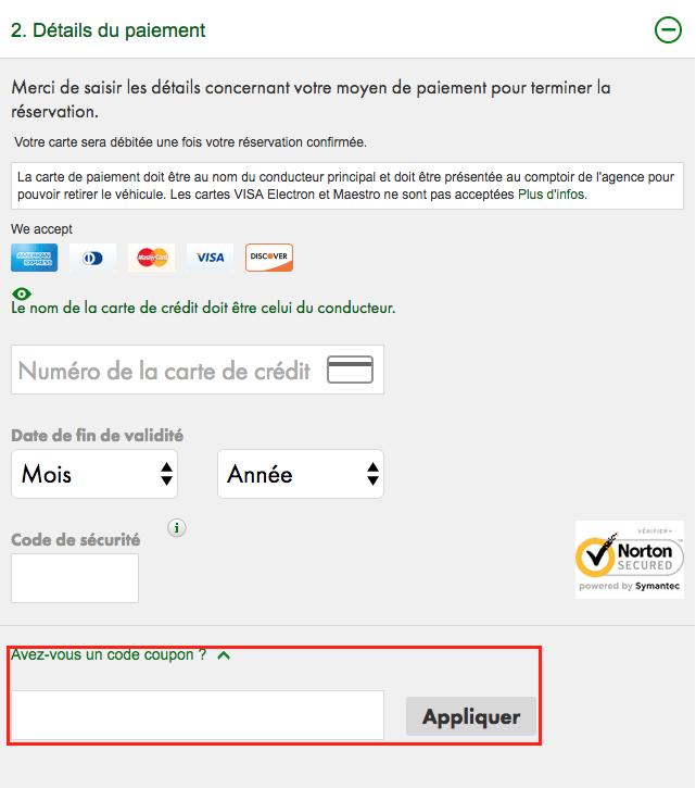 europcar – un code promo pour louer moins cher – Dealabs