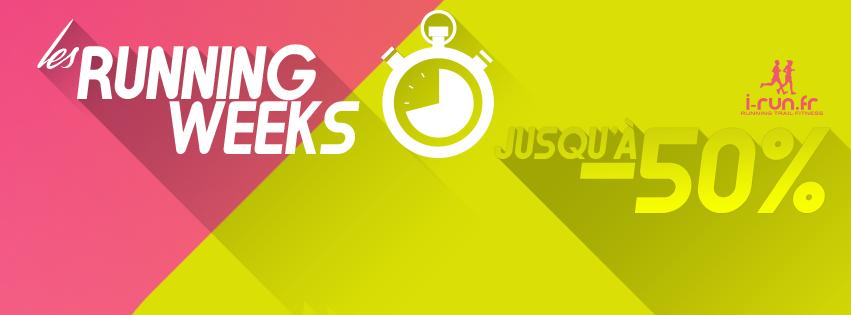 i-run – running weeks pleines de réductions – Dealabs