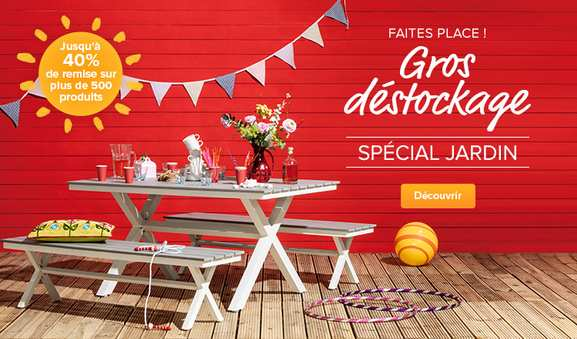 home24 – outlet jardin – Dealabs
