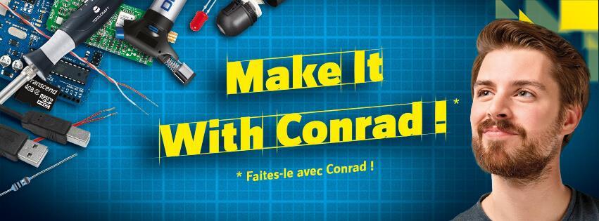 conrad – diy pour les bricoleurs – Dealabs