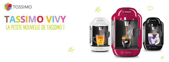tassimo – vivy, machine à expresso – Dealabs