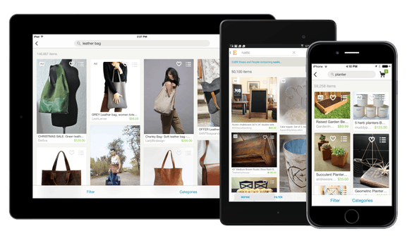 etsy – application mobile et tablette – Dealabs
