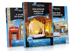 wonderbox – coffrets escapades – Dealabs