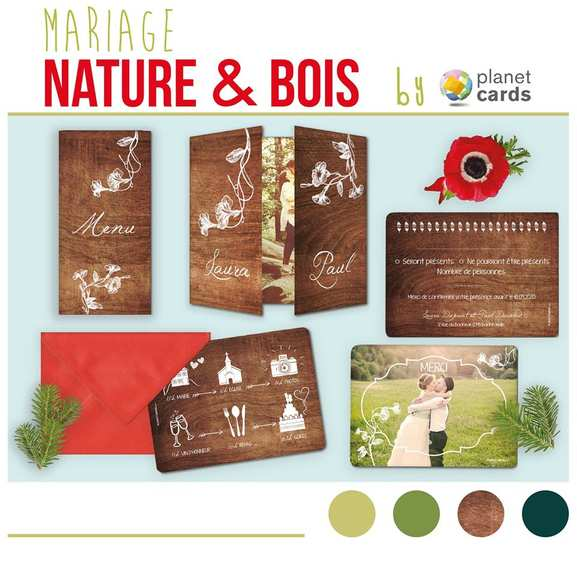planet cards – mariage inspiration nature – Dealabs