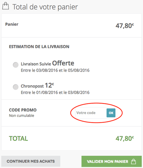 planet cards – Utiliser un code promo – Dealabs