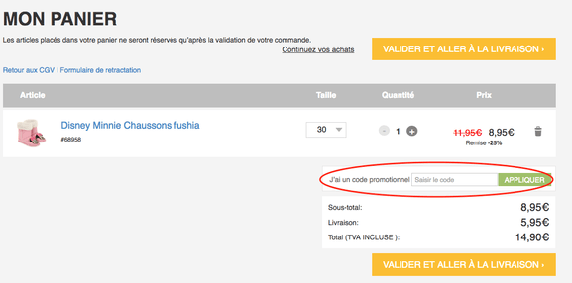 lamaloli – utiliser un code promo – Dealabs