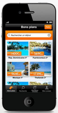 promovacances – appli mobile – Dealabs