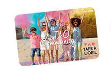 My TAO Community – carte de fidélité – Dealabs