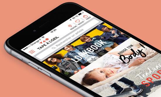 Tape à l'œil –application mobile – Dealabs