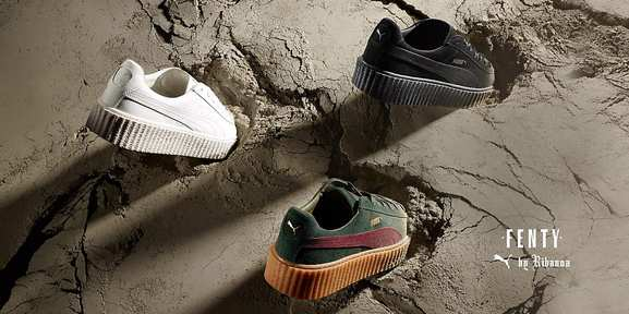 puma – la Creeper revue par Rihanna – Dealabs