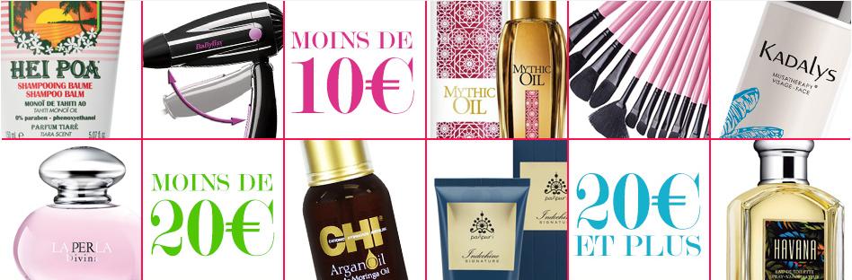 Beauté privée – grandes marques de cosmétiques en vente privée – Dealabs