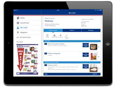 aldi – application tablette – Dealabs