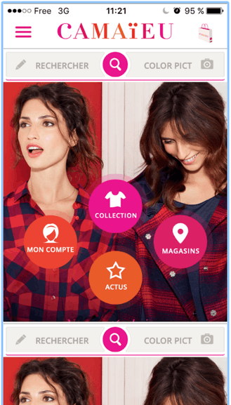 Camaieu – Application mobile pour shopping facile – Dealabs
