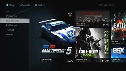 PlayStation store – add-ons pour PS3 – Dealabs