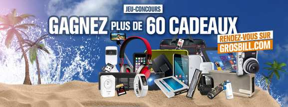 Grosbill – jeux concours – Dealabs