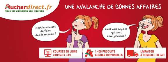 Auchandirect – Bonnes affaires et promos – Dealabs