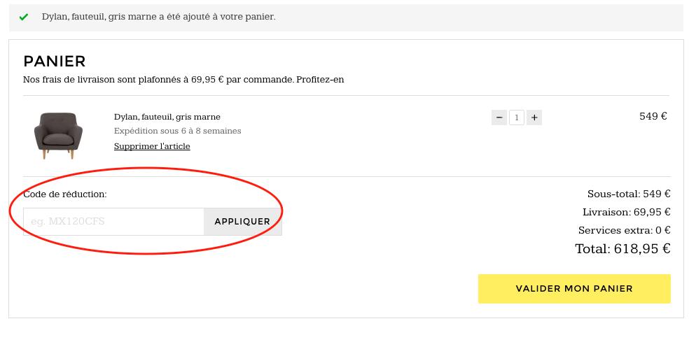 Made.com – code promo – Dealabs