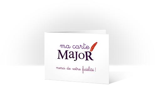 Sergent Major – Carte de fidélité – Dealabs
