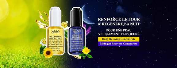 Kiehl's – Midnight recovery concentrate – Dealabs