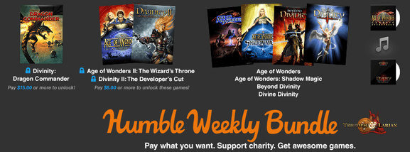 humble bundle – le weekly bundle – Dealabs