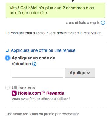Hotels.com – Code promo pour une réduc sur votre séjour – Dealabs