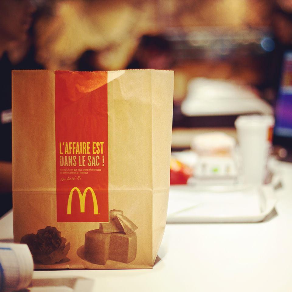 mcdonalds – repas à emporter – Dealabs
