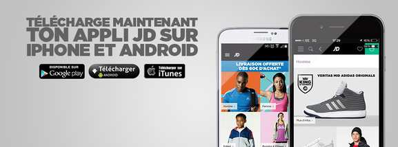 jd sports – appli mobile et promotions – Dealabs