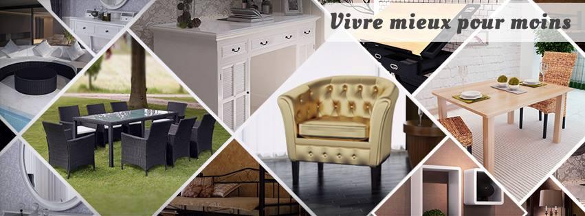 vidaXL – mobilier pas cher en ligne – Dealabs