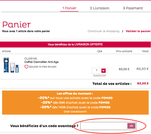 d85f6680219ba Code promo Nocibé ⇒ 25% de réduction en juillet 2019 - Dealabs.com