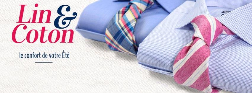 cafe coton – chemise d'été en lin et coton pas cher – Dealabs